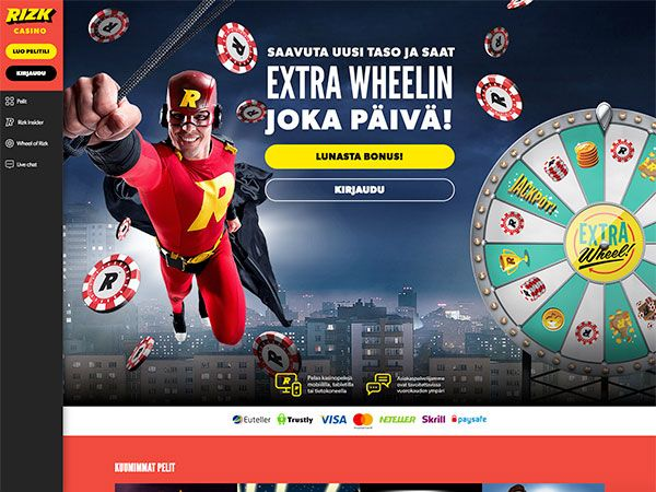 Rizk casino extra wheelin