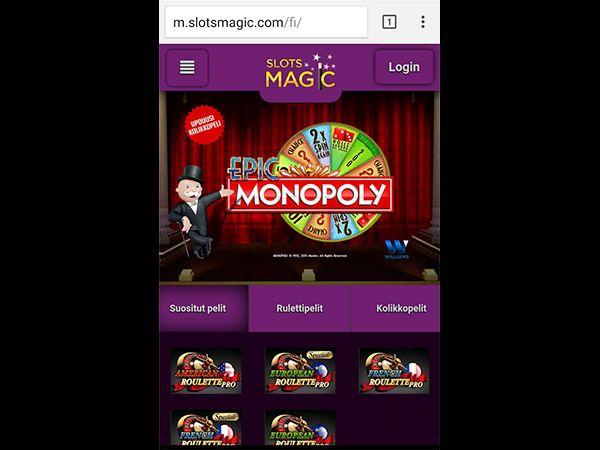slotsmagic-mobiili