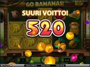 go-bananas-kolikkopeli-suuri-voitto