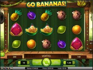 go-bananas-kolikkopeli-rullat