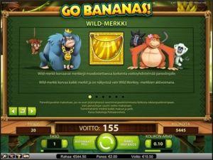 go-bananas-kolikkopeli-wild-merkki