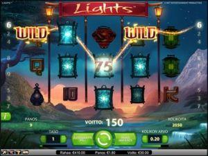 lights-kolikkopeli-voitto
