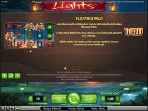 lights-kolikkopeli-floating-wild