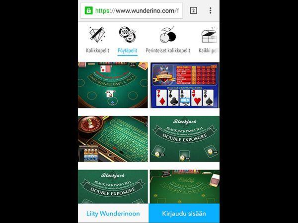 wunderino-mobiili-kasinopelit
