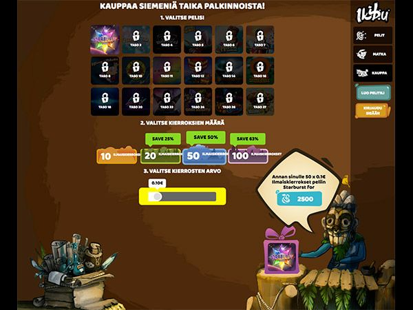 ikibu-casino-kauppa-ilmaiskierrokset