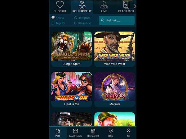casinoland-mobiili