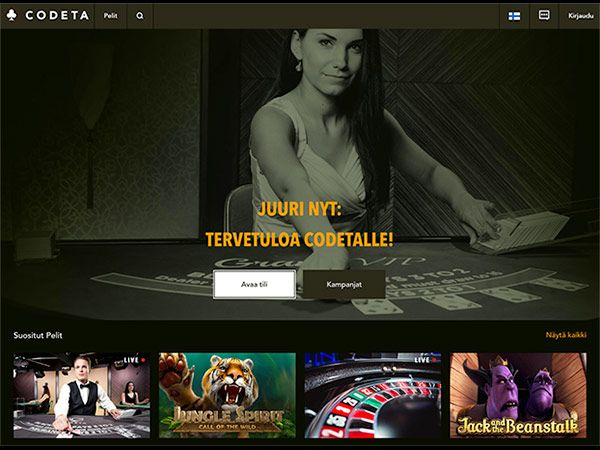 codeta-casino-etusivu