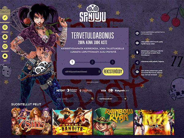 spinjuju-casino-etusivu-tervetulobonus