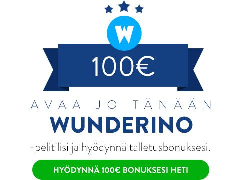 Wunderino Casino Talletusbonus