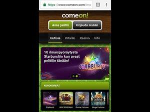 comeon-casino-mobiili