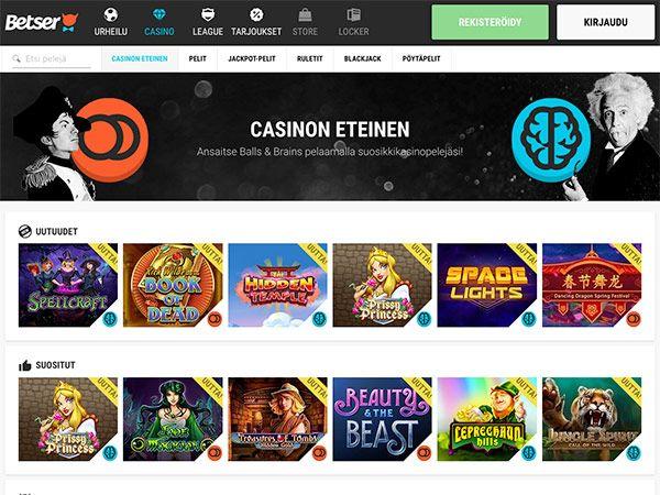 betser-casino-etusivu
