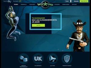 wixstars-casino-etusivu