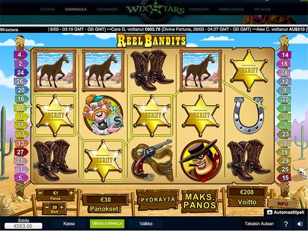 wixstars-casino-kolikkopeli