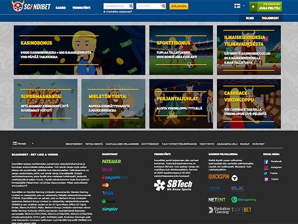 scandibet-casino-tarjoukset