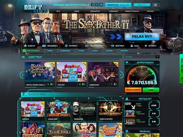 drift-casino-etusivu