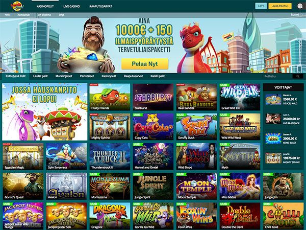 Luckland casino etusivu
