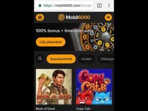 mobil6000-mobiilikasino