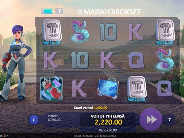 slotv-casino-kolikkopeli-voitto