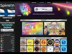 spinson-casino-tarjoukset