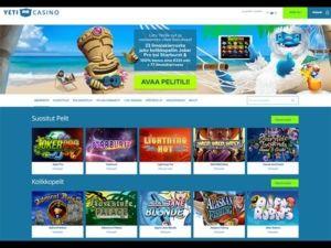 yeti-casino-etusivu-talletusbonus