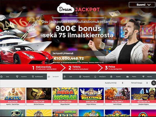 dream-jackpot-casino-etusivu-bonukset