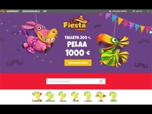 la-fiesta-casino-etusivu-ensitalletusbonus