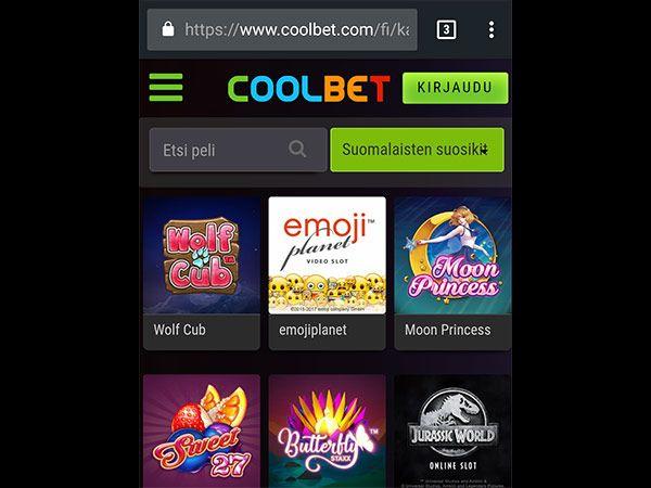 coolbet-mobiilikasino