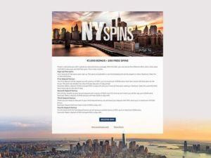 nyspins-casino-tietoa-bonuksesta