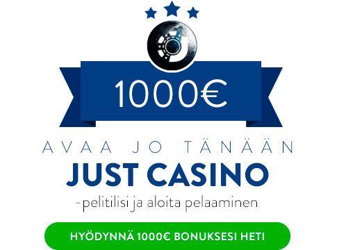 Just Casino bonus