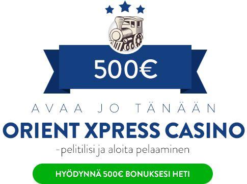 Orient Xpress Casino bonus