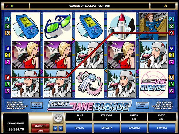 Jackpot City Casino kolikkopeli voitto