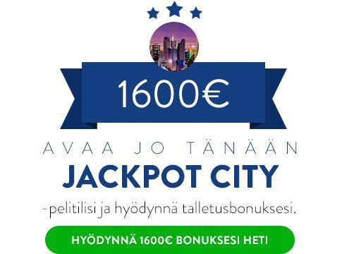 JackpotCity Casino Talletusbonus