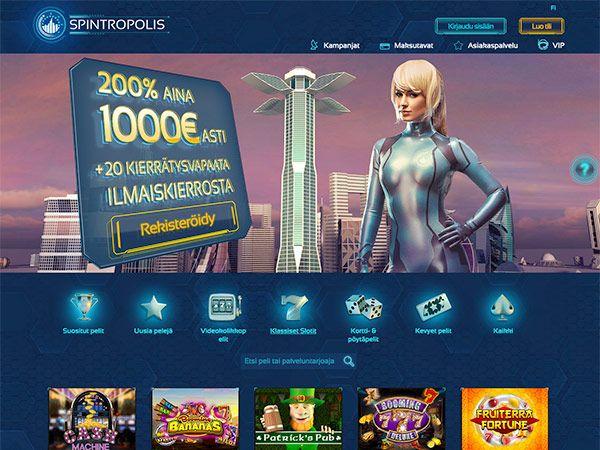 spintropolis-casino-etusivu-bonukset