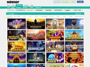winner-casino-pelivalikoima