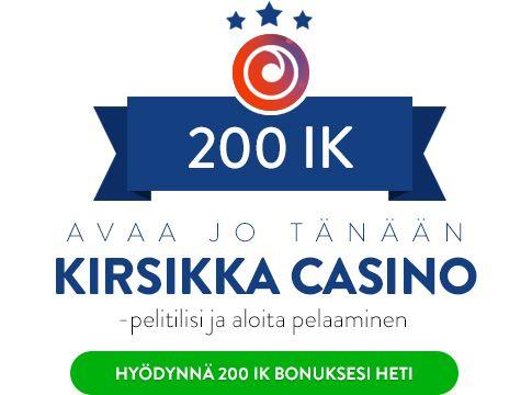 Kirsikka Casino bonus