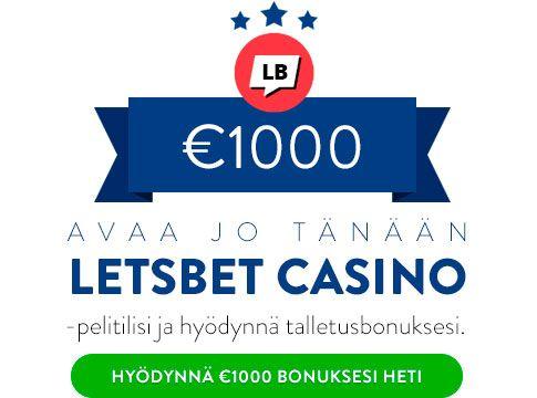LetsBet Casino bonus