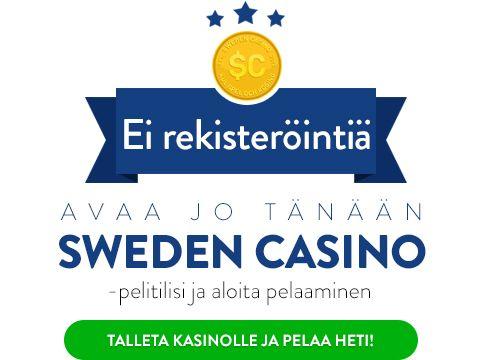 Pelaa Sweden Casinolla