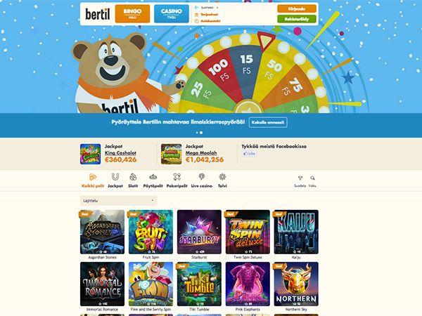 bertil-casino-etusivu