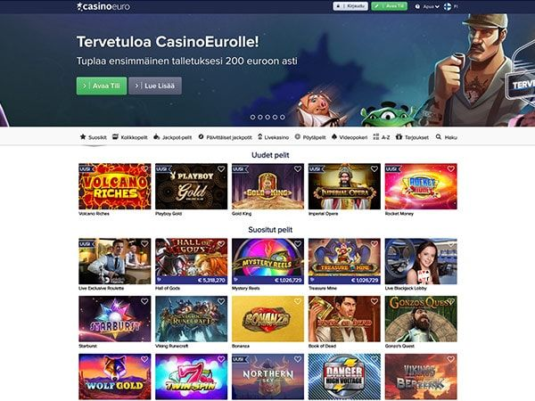 CasinoEuro etusivu