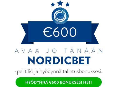 NordicBet casino talletusbonus