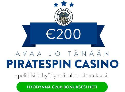 PirateSpin Casino talletusbonus