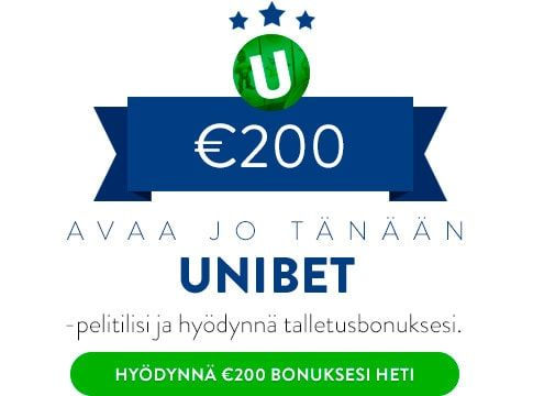 Unibet casino talletusbonus