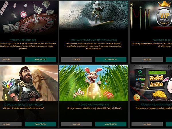 Dealers Casino kampanjat