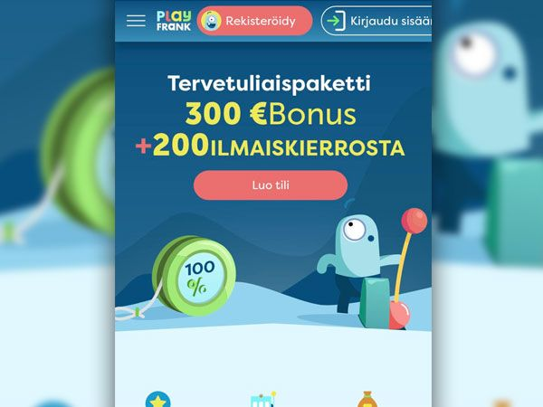 PlayFrank mobiili