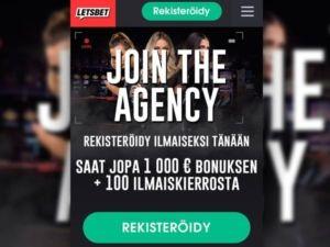 LetsBet Casino – 1000€ bonus, Ilmaiskierrokset & Kokemuksia