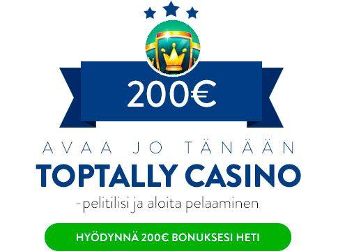 Toptally Casino bonus