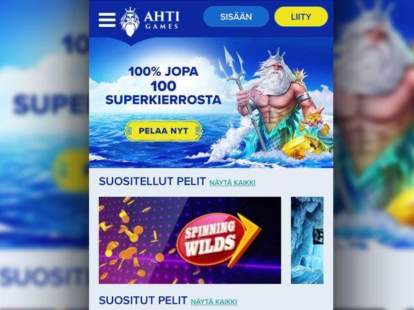 AHTI Games mobiilikasino