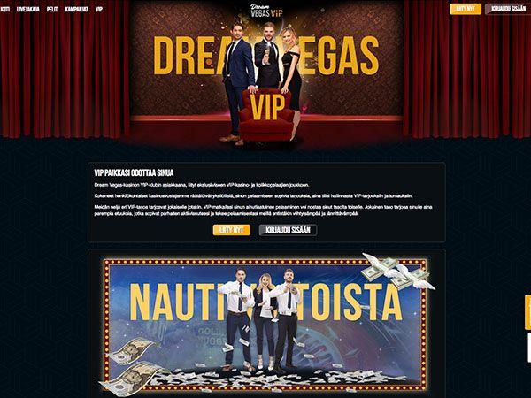 Dream Vegas casino VIP