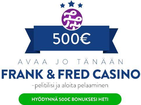 FrankFred Casino bonus