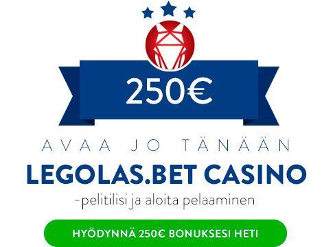Legolas.bet Casino bonus